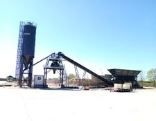 Constmach concrete plant 60 m3/h FIX TYPE CONCRETE PLANT READY FOR DELIVERY!