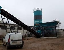 Constmach concrete plant 30 m3/h PORTABLE CONCRETE BATCHING PLANT, MOST ECONOMIC CONCRETE