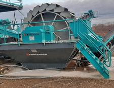 Constmach vibrating screen New System Bucket Wheel Washer For Sale