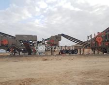 Constmach mobile crushing plant 120-150 tph CAPACITY MOBILE CRUSHING PLANT, CALL NOW!