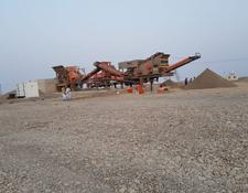 Constmach mobile crushing plant DELIVERY FROM STOCK, 250 tph CAPACITY MOBILE JAW AND IMPACT CRUS