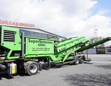 separator Neunhauser Superscreener 2.1.2.120, mobile screen, 3 lines, 1.2m