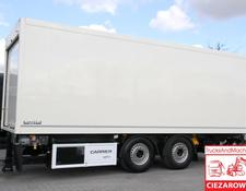 Rohr closed box trailer refirgerator , passing trailer m Carrier 850u , 18 EPAL