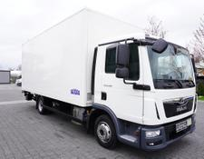 MAN box truck TGL 8.190 , E6 , 20.000km , 6 units , Box + tail lift , GVW 8.60