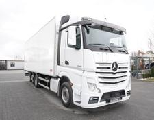 Mercedes-Benz refrigerated truck Actros 2542 , E6 , 6x2 , 20 EPAL , Height 2,60m , retarder ,