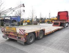 CAMRO low bed semi-trailer CNR26.20B , TIEFBETT , Widended , load 25t , 2x SAF , steering a