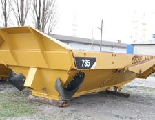 Caterpillar dump truck body KIPPER TIPPER BODY DUMPER CATERPILLAR CAT 735 FLAP DOOR