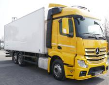 Mercedes-Benz refrigerated truck Actros 2542, E6, 6x2, retarder, 7.75 m long, lift axle, 19 EPAL
