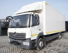 Mercedes-Benz box truck Atego 1321 , E6 , 4x2 , 18 EPAL , tail lift , 5 UNITS