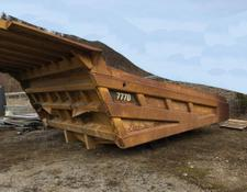 Caterpillar dump truck body