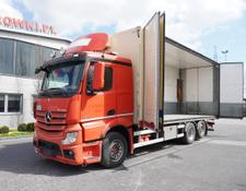 Mercedes-Benz refrigerated truck Actros 2551 , E5 , 6x2 , 18 EPAL , height 3M , full side opening
