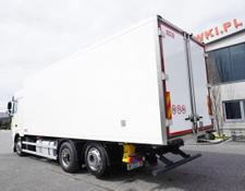 Daf refrigerated truck XF 460 SC , E6 , 6x2 , 19 EPAL , partition wall , retarder , Spa