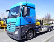 Mercedes-Benz container chassis Actros 2542 , E6 , 6x2 , MEGA , chassis 7,5m , BDF , retarder ,