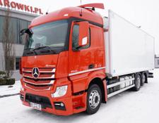 Mercedes-Benz refrigerated truck Actros 2542 , E6 , 6x2 , 19 EPAL , lift axle , StreamSpace