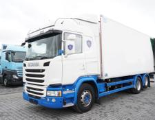 Scania refrigerated truck G490 , E6 , 6X2 , Meat hooks , 19 EPAL